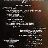Pete K - #WideFriday Progressive & Techno Year Mix