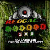 The Reggae to Jungle Mix ~ Raggadee b2b Steppin Razor n Koatsy .