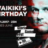 Gloria Game Boyz live @ DJ WAIKIKI´s BIRTHDAY 2017