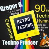 90ziger Retro Techno der Ersten  Stunde ..Madly  !....Unsere Hymen ....11 Min ...Blitz Mix by G.Osth