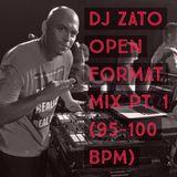 DJ Zato Open Format Mix Pt. 1 (95-100 BPM)