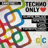 Ninette @ Techno Only - Geheimclub Magdeburg - 31.05.2014