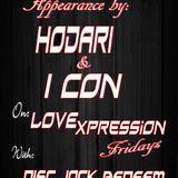 Hodari & Ikon appearance on Love Expression Fridays with the Love Jock Disc Jock Redeem