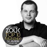 October 2016, Brazilian Zouk Top 10, DJ Martin