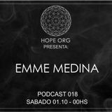 Emme Medina @ Hope Org Podcast 018