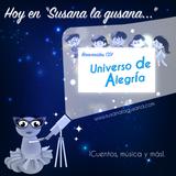 Susana la gusana presenta a el CDI Universo de alegría. ¡Cuentos, música y más! 2-09-17