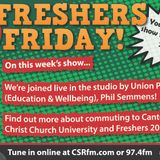 Freshers Friday Week 2 (Commuting and Events)