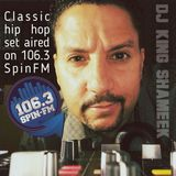 Classic Hip Hop set aired on SpinFM