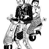 """""""ακατάλληλον για πατριωτισμό"""" δελφίνι + κομπρεσορ 05/03/2018"""