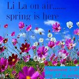 Li La on air....spring is here