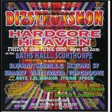 Dizstruxshon vs hardcore heaven 18th june 1999 dj sharkey