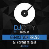 Frizzo - DJcity DE Podcast - 24/11/15