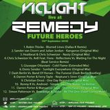 Vic Light Live @ Remedy Future Heroes, Bar So, Bournemouth (13-09-13)