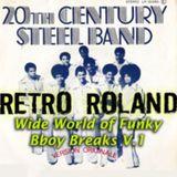 RETRO ROLAND - WIDE-WORLD OF FUNKY BBOY BREAKS - OCT, 2011