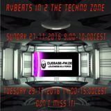 RvBeats In 2 The Techno Zone CuebaseFM  Black Stream Episode 27-11 & 29-11-2016