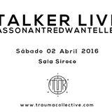 REDWAN AT  @ TRAUMA #06 (Madrid, 02.04.16)