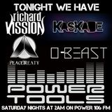 DJ O-Beast Debut Mix on Powertools Mixshow 3/23/13