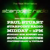 Paul Stuart Starpoint Radio - Sunday 4th August 2019
