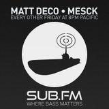 Matt Deco & Mesck on Sub FM - December 5th 2014
