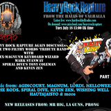 Heavy Rock Rapture July 18 2017. More discussions on the evil of tribute bands