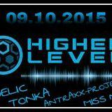 Dj set @ Higher Level, Hamburg, 09.10.2015