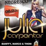 Julia Carpanter - Live @ Negresco Grill & Terrace Gyömrő 2013.08.03.