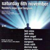 JEFF MILLS @ I Love Techno (Flanders Expo / Gent):06-11-1999