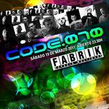 NUKE live @ CODE.070 // Fabrik Club Madrid // Sat 19th March
