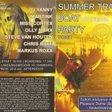Summer Trance Boat Party Mai 2012 - Miss Cortex & Chrys Ruff in the Mix