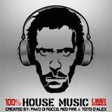 Dr House 100% House Music on UMR Radio || Pako Di Rocco || 06.06.15