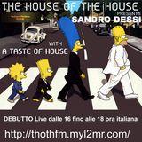 Sandro Dessì *A Taste Of House* Live on ThothFm 14 Gennaio 2018