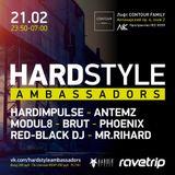 Red-Black DJ – Hardstyle Ambassadors 21.02.2016