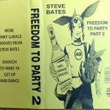 "DJ Steve ""Psycho"" Bates - Oldskool House Classics Vinyl 95 Mix - Freedom To Party 2"