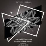 Ayako Mori dj set at Minimal Force show case, Cafe 1001 London UK