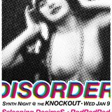 Disorder January Preview // 1/9/2013 // The Knockout // DJ Nickie
