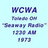WCWA 1230AM Toledo OH =>>  Ted Dalaku  <<= Friday 2nd February 1973