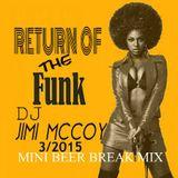 RETURN OF THE FUNK !!!!! DJ JIMI MCCOY!!!!! WHAT EVA I PLAY, IT GOT TO BE FUNKY!!!!