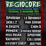 SPOOTNIK @ REGIOCORE (opening set) 21-11-2015, de speaker Alphen a/d Rijn