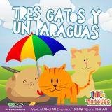 EL AUTOBÚS - Tres gatos y un paraguas