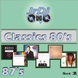 Segunda entrega de Clásicos de los 80's, esta vez solo canciones éxitos de 1987