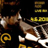 DeeZeeJay - exlusive live mix for Encoder-radio - 04.06.2011. - part 1
