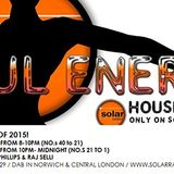 The Solar Radio Soul Energy House Chart Top 20 for 2015