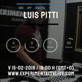 Luis Pitti @ Experimental Tv Radio@Experimental Tv Radio (15-02-2019)