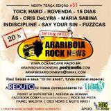 # 49 Arariboia Rock News - 09.06.2015 - Entrevista com O Álibi e Festival DaLua