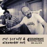 Mr. Scruff & Alexander Nut DJ Set - Soundwave Boat Party, Croatia 2018