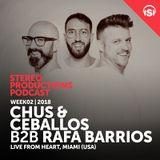 Chus Ceballos B2B Rafa Barrios - Stereo Productions Podcast 231 (Live at Heart Club, Miami) - 12-J
