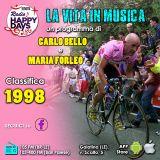 La Vita in Musica - puntata del 15 Mar 2018 - I singoli più venduti in Italia nel 1998