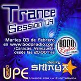 DJ SHINYA - TRANCE SESSION 2009 (BODORADIO CARACAS, VENEZUELA)