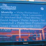 Musicity Live @ The Architectural Foundation