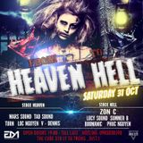 Live @RAVE CITY HALLOWEEN PARTY 2015: From HEAVEN to HELL (31-10-2015)